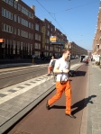 Shooting on the streets of Amsterdam